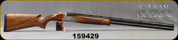 "Caesar Guerini - 12Ga/2.75""/32"" - Summit Sporting - O/U - Oil-Finish Walnut Stock w/Adjustable Comb/Coin Finish Engraved Receiver/Chrome-Lined, Vent Rib Barrels, DTS trigger system, S/N 159429"