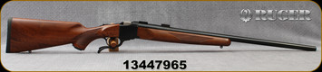 "Ruger - 243Win - 1-V - Varminter - American Walnut Stock/Satin Blued, 26""Heavy Barrel, 1:7.7"" Twist, MFG# 21300, S/N 13447965"