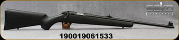 "Sako - 22LR - Quad Synthetic - Bolt Action Rimfire Rifle - Black Synthetic Stock/Blued, 22""Barrel, Mfg# S1705LL20"
