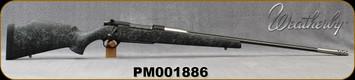 "Consign - Weatherby - 300WbyMag - Mark V Accumark - Black w/Grey Web Fiberglass/Spun Stainless w/ Graphite Black Cerakote 2-Tone, 26""#3 Contour Barrel, Accubrake UNFIRED"