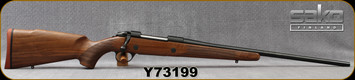 "Sako - 30-06Sprg - Model 85M Hunter - Bolt Action Rifle - Walnut Stock/Blued, 22.4""Barrel, 1:11""Twist, Detachable Magazine, Mfg# SAW31H61A, S/N Y73199"