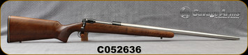 "Used - Savage - 6mmRem - Custom - Single-Shot Bolt Action Rifle - Walnut Stock/Stainless, 26""Heavy Barrel"