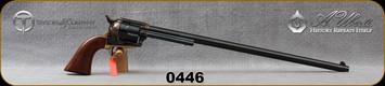 "Taylor's & Co- Uberti - 357Mag - Model 1873 Ranch Hand Buntline - Revolver - Walnut Grips/Case Hardened Frame/Brass Backstrap & Trigger Guard/Blued, 18""Barrel, Mfg# 0446"