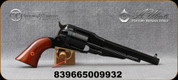 "Taylor's & Co - Uberti - 38Spl - 1858 Remington Conversion - 6 round Revolver - Walnut Grips/Blued, 7 3/8"" Barrel, Mfg# 1010"