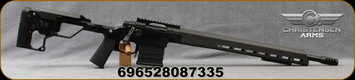 "Christensen Arms - 223Rem - Modern Precision Rifle (MPR) - Bolt Action Rifle - Folding Stock w/Adjustable Carbon Fiber Cheek Riser, Black Hardcoat Anodized Finish, 20""Threaded (1/2x28)Barrel, 1:8""Twist, Mfg# 801-03021-01"