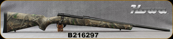 "Howa - 270WSF - 1500 Lightning, Bolt Action Rifle - Realtree HW Synthetic Stock/Blued, 22""Barrel, 5rd capacity, Two-stage H.A.C.T. trigger system, Mfg# HWR62602+, S/N B216297"