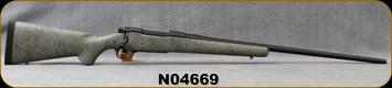 "Consign - Nosler - 26Nosler - M48 Liberty - Bolt Action Rifle - Grey w/Black Web Synthetic Stock/Black Cerakote Finish, 26""Barrel, 3 Round capacity, Mfg# 32948 - New, Unfired in original box"