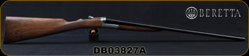 "Beretta - 20Ga/3""/26"" - Model 486 Parallelo Floral - Round-Body SxS - Ejectors - Grade AA Walnut English Grip Stock/Floral Engraved Receiver/Blued Barrel, OCHP Chokes, 10x5.5Rib, Mfg# A5Y186BC9AAD10, S/N DB03827A"