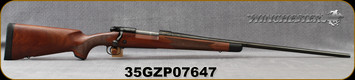 "Used - Winchester - 264Win - Model 70 Super Grade - Bolt Action Rifle - Walnut Stock/Blued, 26""barrel, Hinged Floorplate - In non-original box"