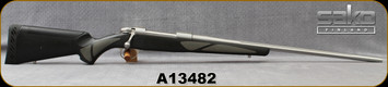 "Used - Sako - 300WM - 85L Finnlight - Black Polymer Stock w/Grey soft-touch grip panels/Stainless, 24.5""Fluted Barrel"