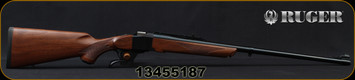 "Ruger - 300H&HMag - Model No.1-S Medium Sporter - Single-Shot Rifle - American Walnut Stock/Blued, 26"" Barrel, Mfg# 11345, S/N 13455187"