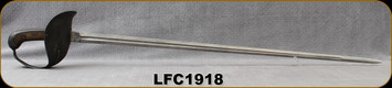 "Consign - L.F&C 1918 - US M1913 Calvary Sword - US Sword commonly referred to as Patton Sword - 34.25""Blade - Manufactured in 1918"