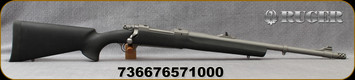 Ruger - 375Ruger - M77 Hawkeye Alaskan - Bolt Action Rifle - Black Synthetic/Stainless, 20?Barrel, 3 round capacity, Mfg#57100