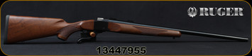 "Ruger - 243Win - 1-V - Varminter - American Walnut Stock/Satin Blued, 26""Heavy Barrel, 1:7.7"" Twist, MFG# 21300, S/N 13447955"