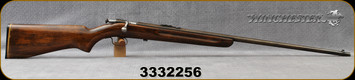 "Consign - Winchester - 22S/L/LR - Model 67 Sporting - Bolt Action Rimfire Rifle - Walnut Stock/Blued, 27""Barrel"