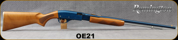 """Consign - Remington - 22S/L/LR - Model 572 Fieldmaster Lightweight - Teal-Wing Blue - Pump Action - Checkered """"Sun-Grain"""" stock & forend/Anodized Receiver/Steel, 23.5""""Barrel, 4LBS"""
