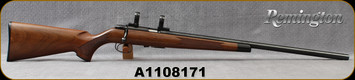 "Consign - Remington - 22S/L/LR - Model 541-T - Walnut Stock/Blued, 24""Barrel, 1""Leupold Rings"