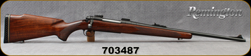 "Consign - Remington - 280Rem - Model 725 Deluxe - Bolt Action Rifle - Walnut Stock/Blued, 22""Barrel - Manufactured approx.1958"