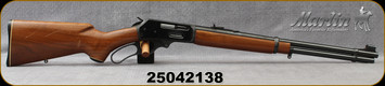 "Consign - Marlin - 30-30Win - Model 336 - Lever action Rifle - Walnut Stock/Blued, 20""Micro-Groove Barrel"