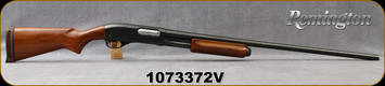 "Consign - Remington - 12Ga/2.75""/30"" - Model 870 Wingmaster - Pump Action - Walnut Stock/Blued Barrel, Fixed Full, Brass Bead Front Sight"