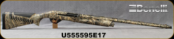 "Consign - Benelli - 12Ga/3.5""/28"" - Super Black Eagle 3 - Semi-Auto - Realtree Max5 Camo Finish, c/w 5pc choke - Only 175 rounds fired - in original case"