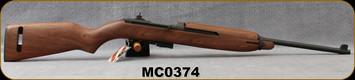 "Consign - Auto Ordnance - 30Cal - M1 Carbine - American Walnut Stock/Parkerized Finish, 18""Barrel - Unfired, in original box"