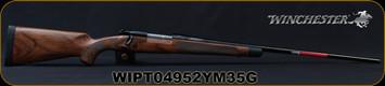 "Winchester - 300WM - Model 70 Super Grade French Walnut - Bolt Action Rifle - AAA French Walnut Stock w/Ebony Forearm Tip/'Super Grade' Engraved Hinged Floorplate/Polished Blued, 26""Barrel, Mfg# 535239233, S/N WIPT04952YM35G"