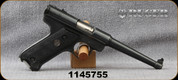 "Consign - Ruger - 22LR - Standard Pistol - Semi-Auto - Black Grips/Blued, 6""Barrel, 2 magazines - Manufactured in 1972 - Scarce 6"" - In original box"