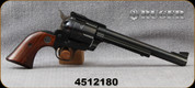 "Consign - Ruger - 45Colt/45ACP - Blackhawk 45 Convertible - Revolver - Walnut Grips/Blued, 7.5""Barrel, 3-screw model, manufactured in 1971 - in original box"