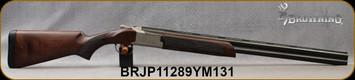 "Consign - Browning - 12Ga/3""/28"" - Citori 725 Field - O/U Break Action Shotgun - Walnut Stock/Engraved Silver Receiver/Blued Finish, Mfg# 0181653004, less than 20rds fired - in original box"