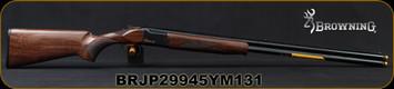 "Browning - 20Ga/3""/30"" - Citori CXS - O/U Break Action Shotgun - Gloss Finish Grade II Walnut Stock/Blued, (3)Three Midas Grade Invector-Plus Extended Choke Tubes; (F, M, IC), Mfg# 018073603, S/N BRJP29945YM131"