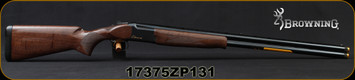"Browning - 12Ga/3""/30"" - Citori CXS - O/U Break Action Shotgun - Gloss Finish Grade II Walnut Stock/ Blued Barrels, Invector+ Chokes, Mfg#018073303 ,S/N 17375ZP131"