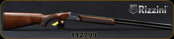 "Rizzini - 20Ga/3""/28"" - BR110 Light Luxe - O/U Break Action Shotgun - Turkish Walnut/Engraved Silver Receiver/Blued Barrels, single-selective trigger, S/N 112799"