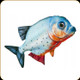 "GABY - Red-Bellied Piranha Pillow - 19"" - GP-175433"