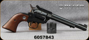 "Consign - Ruger - 22LR/22Mag - Super Single Six Convertible - 3-Screw - Revolver - Walnut Grips/Blued, 6.5""Barrel, Manufactured in 1971"