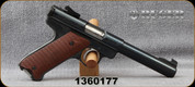 "Consign - Ruger - 22LR - Mark I Target - Wood Grips/Blued, 5.5""Barrel - Marked ""Made in the 200th Year of American Liberty"""