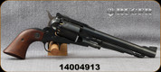 "Consign - Ruger - 45Cap&Ball - Old Army - Black Powder Revolver - Walnut Grips/Blued, 7.5""barrel, Early Producation - Unfired - New, no box"