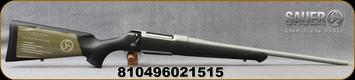 "Sauer - 6.5Creedmoor - S100 XT Ceratech -  Bolt Action Rifle - Black Synthetic ERGO MAX Stock/Ice Grey Cerakote Finish, 22"" Barrel, 5 Round Detachable Magazine, Adjustable Trigger, Mfg# S1SX65C"