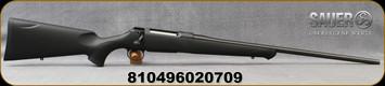 "Sauer - 7mmRM - S100 Classic XT - Bolt Action Rifle - Black Synthetic ERGO MAX Stock/Blued, 24"" Barrel, 4 Round Detachable Magazine, Adjustable Trigger, Mfg# S1S7MM"