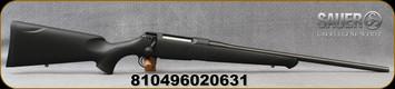 "Sauer - 270Win - S100 Classic XT - Bolt Action Rifle - Black Synthetic ERGO MAX Stock/Blued, 22"" Barrel, 5 Round Detachable Magazine, Adjustable Trigger, Mfg# S1S270"