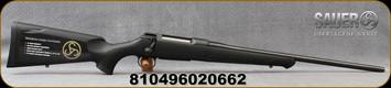 "Sauer - 6.5Creedmoor - S100 Classic XT - Bolt Action Rifle - Black Synthetic ERGO MAX Stock/Blued, 22"" Barrel, 5 Round Detachable Magazine, Adjustable Trigger, Mfg# S1S65C"