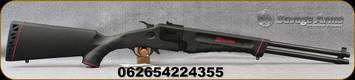 "Savage - 22WMR/410Ga/3"" - Model 42 Takedown - Over Under Break Action Combo Rifle/Shotgun - Black Synthetic Stock/Black Finish, 20""Barrels, Mfg# 22435"