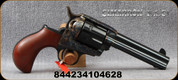 "Cimarron - 45Colt/45ACP - Thunderer - Dual Cylinder Revolver - 1-Piece Walnut Smooth Grip/Case Hardened Frame/Blued, 4.75"" Barrel, Mfg# CA349"