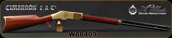"Cimarron - Uberti - 22WMR - Model 1866 Golden Boy Sporting Rifle - Walnut Stock/Brass Frame/Blued, 24.25"" Octagonal Barrel, Mfg# CA212, S/N W88409"