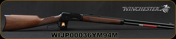 "Winchester - 38-55Win - Model 1894 Sporter - Lever Action - Walnut Stock/Blued, 24""Barrel, 1/2 Octagon, 1/2 Round, Mfg# 534178117, S/N WIJP00036YM94M"