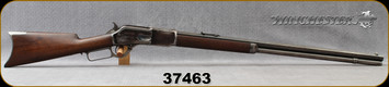 "Consign - Winchester - 45-75WCF - Model 1876 Centennial 3rd Model - Lever Action - Walnut Stock/Blued, 28""Octagonal Barrel, manufactured in 1883, no calibre marking - 20rds of ammunition available from seller - contact store for details"