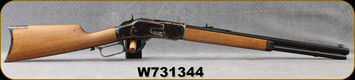 "Consign - Chaparral Repeating Arms - 45Colt - Model 1873 - Lever Action - Wood Stock/Case Hardened Frame/Blued, 20""Octagonal Barrel"