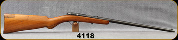 "Consign - Pieper Herstal - 22Cal - Bayard - Single Shot Rimfire Rifle - Wood Stock/Blued, 18""Barrel"