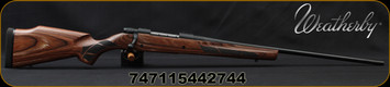 "Weatherby - 6.5Creedmoor - Vanguard Laminate Sporter - Bolt Action Rifle - Brown Laminated Hardwood Stock/Blued, 24""#2 Contour Barrel, 5+1Mag Capacity, Mfg# VLM65CMR4O"