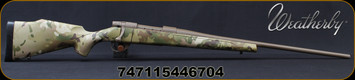 "Weatherby - 6.5PRC - Vanguard MultiCam - Bolt Action Rifle - MultiCam Camouflage Polymer Stock/Cerakote FDE Finish, 24""Threaded Barrel, 4 Round Hinged Floorplate, Mfg# VMC65PPR4T"